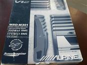 ALPINE 350W MONO CAR AMP MRD-M301